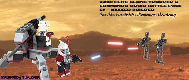Elite Clone Trooper & Commando Droid Battle Pack Review