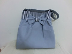 Mya bag in coral grey