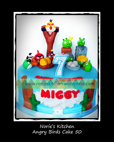Norie's Kitchen - Angry Birds Cake 50 by Norie's Kitchen