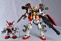 MG 1-100 Gundam HeavyArms EW Unboxing OOTB Review (115)