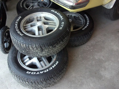 Spare set of wheels