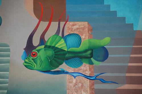 Hiler mural detail 1