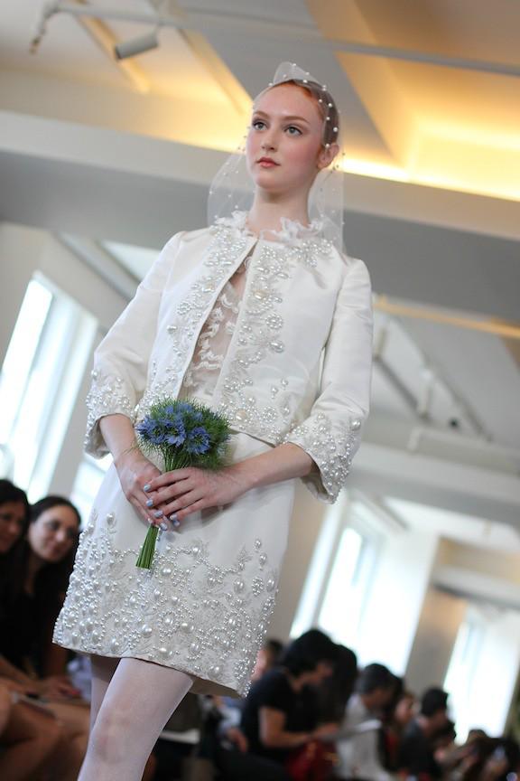 Oscar de la Renta Bridal 2013 100