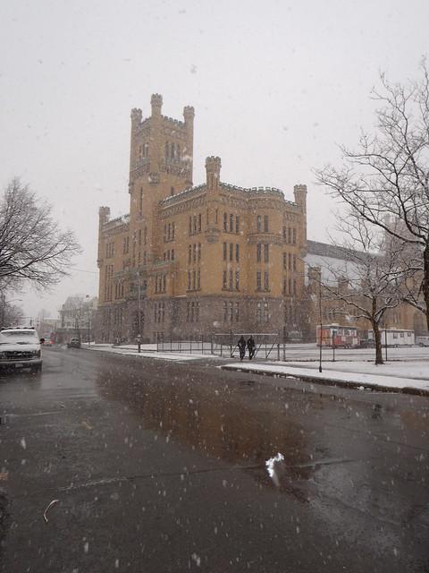 The other Neuschwanstein: Cranston Street Armory, Providence, RI