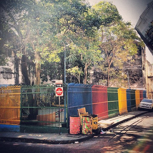 #colorful #fence #cascoviejo #cascoantiguo #panama #panamacity #centralamerica