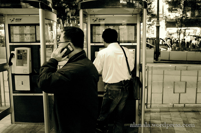 Who use phone booth these days