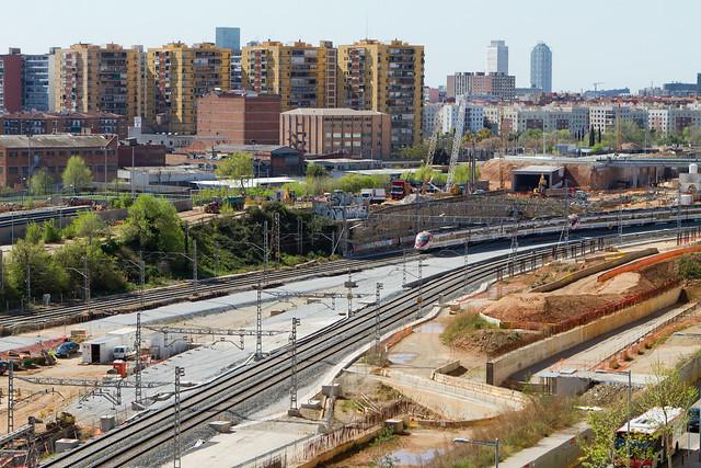 Vista del sector de Riera de Horta - 11-04-12