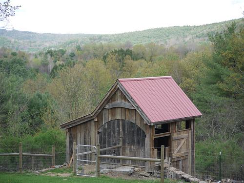 Barn, two years on