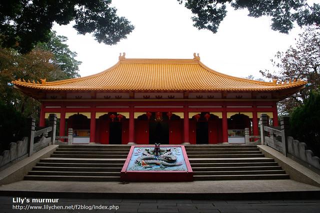 嘉義孔子廟正門。