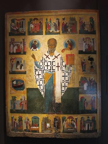 Saint Nicholas Russian Icon