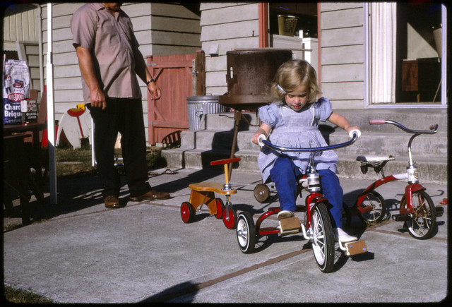 Little Red Trike in Kodachrome [1967]