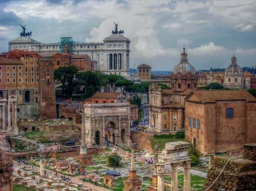 The Roman Forum,Rome,Italy