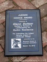 Judges Choice Award ~ MNLA Landscape Design