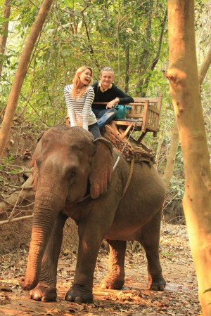Elephant Ride- Luang Prabang, Laos