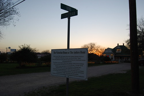 Junction House sign