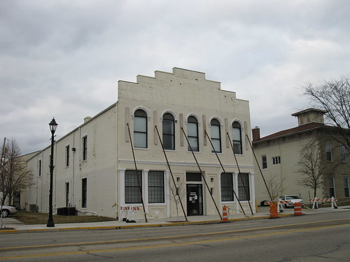The previous Greene County Archives building (Feb. 2012)