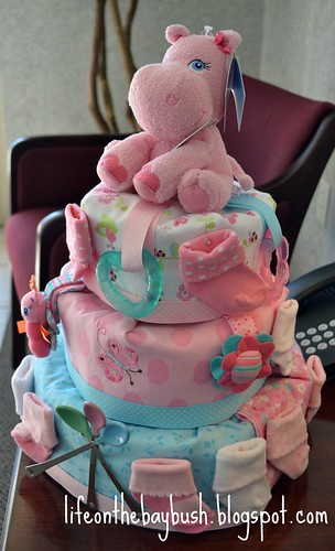 most beautiful diaper cake ever