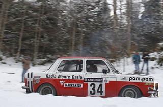 Simca 1000 Rallye 2 - Montecarlo 1973