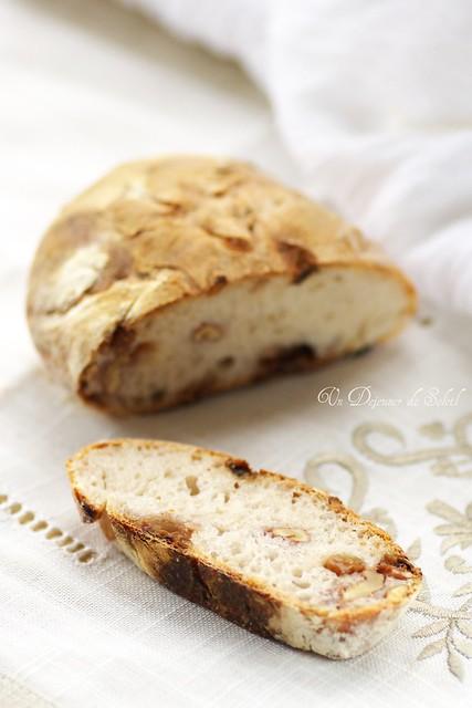 A slice of my sourdough bread