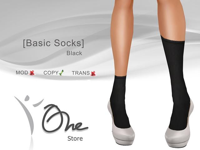 [Basic Socks]