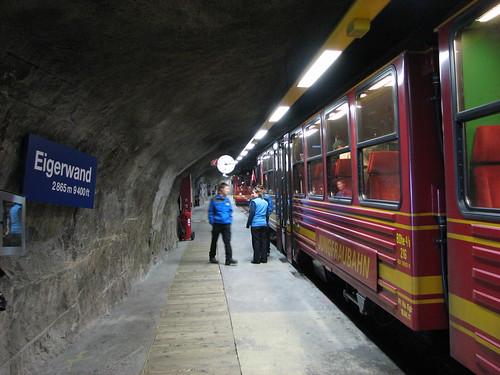 În stația Eigerwand