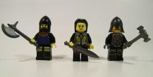 Three Warriors