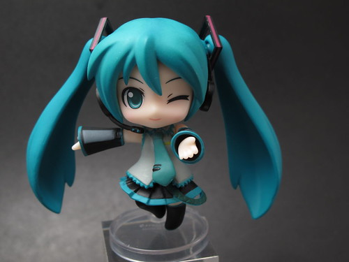 Nendoroid Petit Hatsune Miku: Project mirai version (front view)