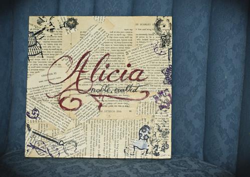 Wall plate - Alicia
