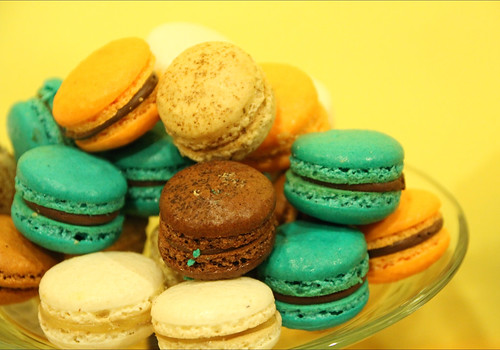 Macaroon at Lachi's