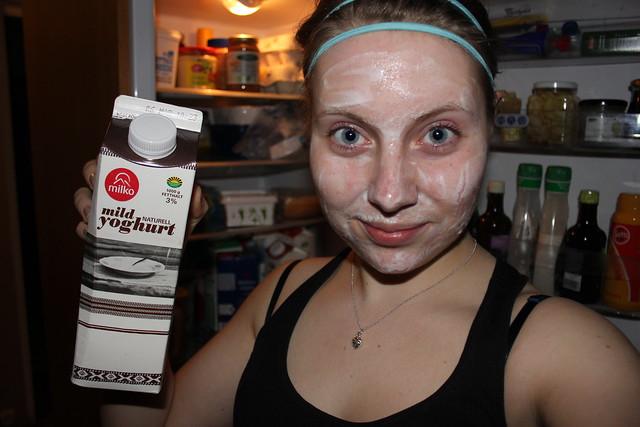 Lydia yoghurtmask