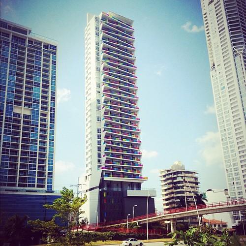 #colorful #architecture #highrise #panama #centralamerica #panamacity #igerspanama #modern