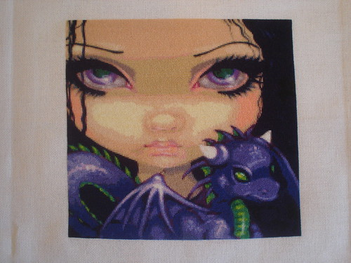 Faces of Faery 88 by Jasmine Becket-Griffith