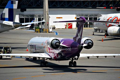 Bombardier CRJ-900ER da Pluna @ SBGR