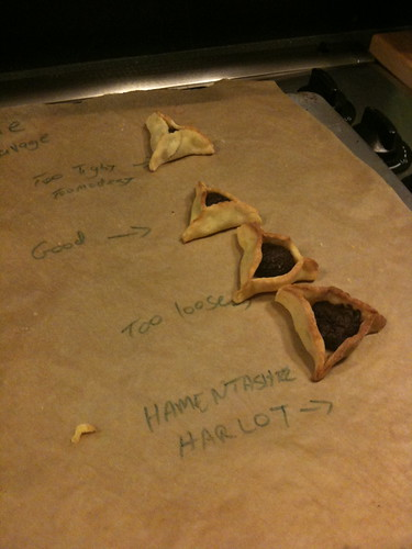 array of hamantashen