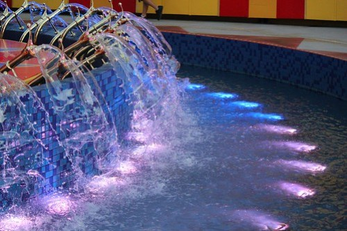 Dumbo lighting and fountains - Storybook Circus