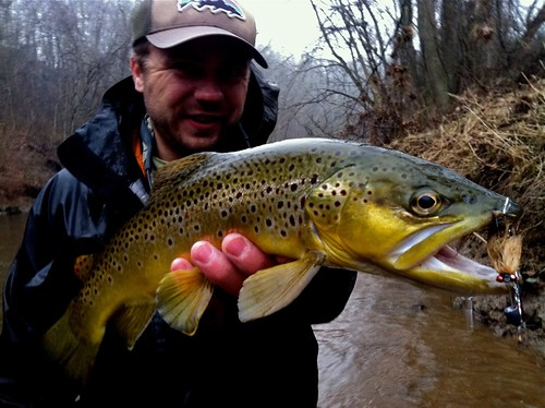 Winter Fly Fishing on the Gunpowder River