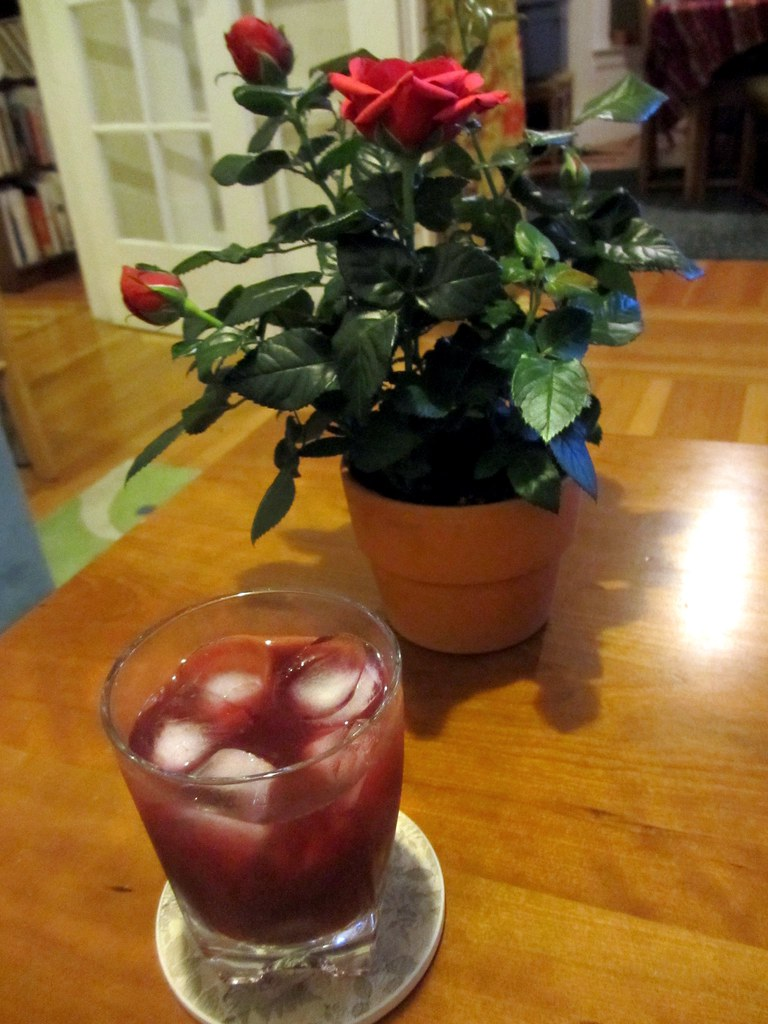The Briar Rose, a cocktail by kate à la mode