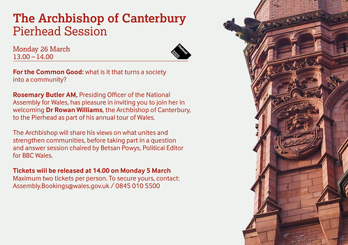 The Archbishop of Canterbury - Pierhead Session