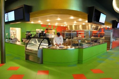 Landscape of Flavors food court