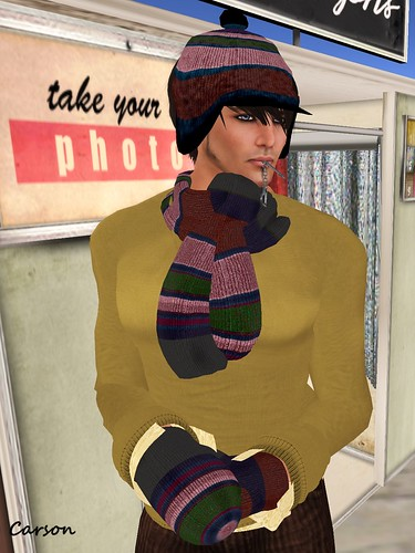 Cilian'gel - Bobble Hat, Scarf and Mittens  Season's Palette 2 Hunt