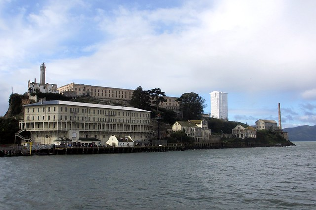 Alcatraz - view from the ferry.