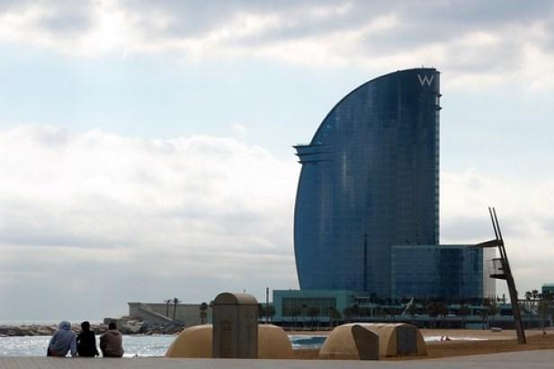 Барселона, Каталония, Испания, Отель W Barcelona