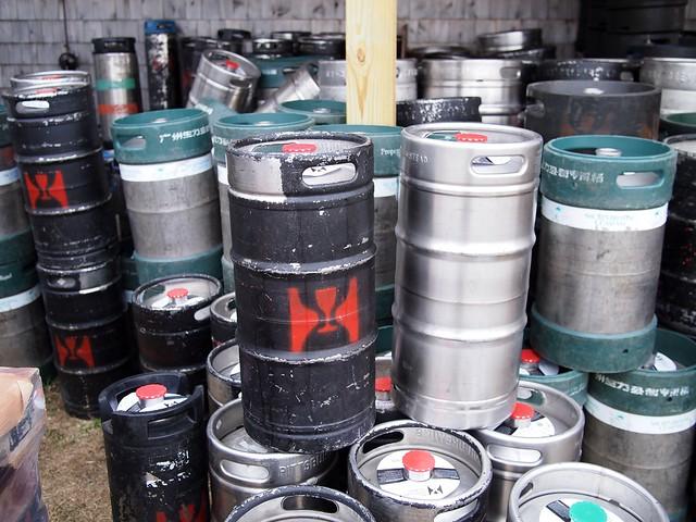 Kegs @ Hill Farmstead Brewery