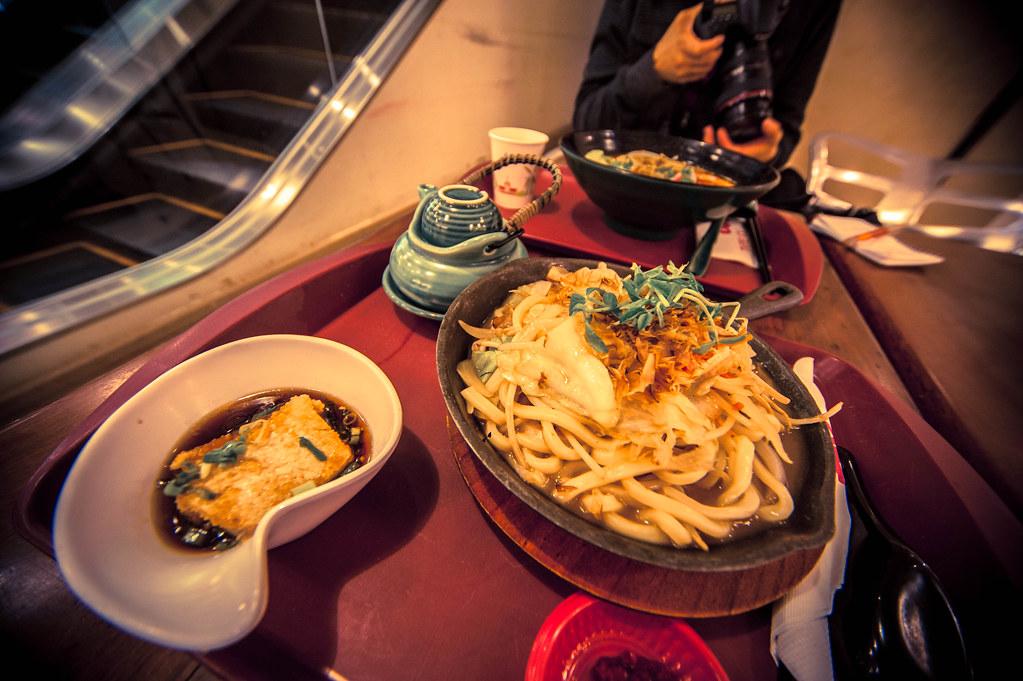 Taipei 101 food court goodness