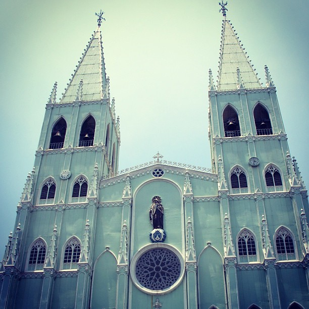 Photo 28/365 - Church no. 4: San Sebastian Basilica #visitaiglesia