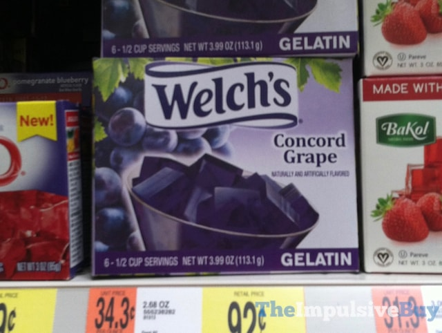 Welch's Concord Grape Gelatin