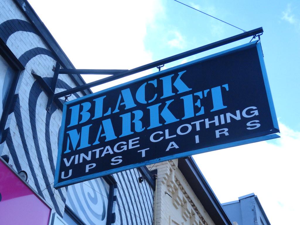 Black Market Signage 2