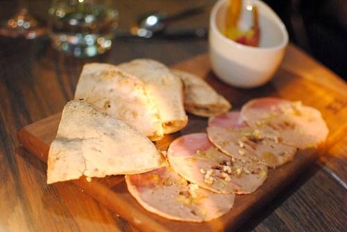 Duck Gallantine israeli pickles, medjool dates