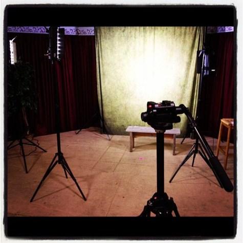 Portrait Session setup #fun