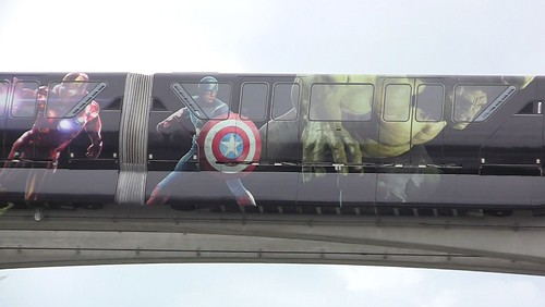 The Avengers monorail